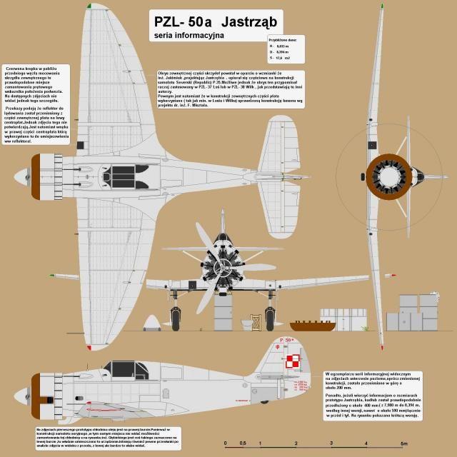 Późno. PZL-50 Jastrząb Polska