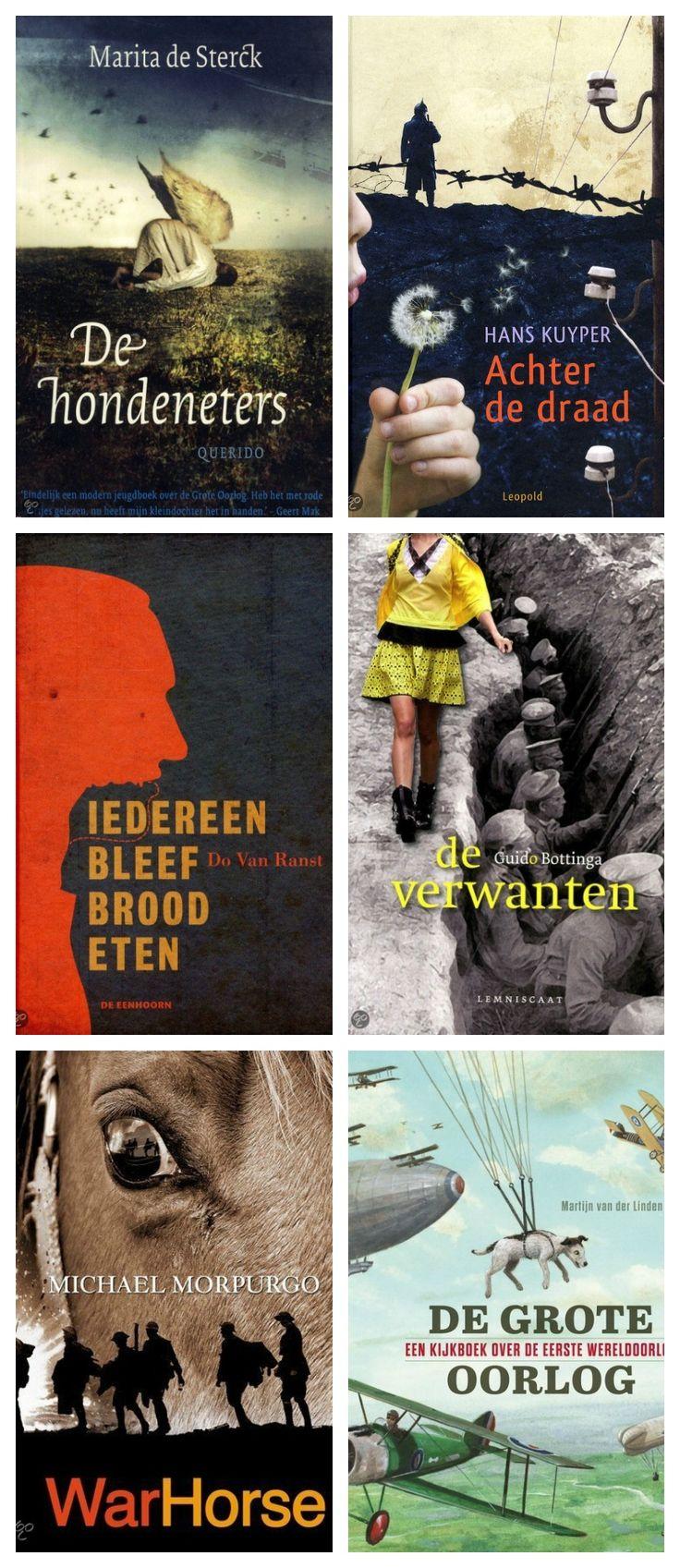 6 jeugdboeken over de Eerste Wereldoorlog