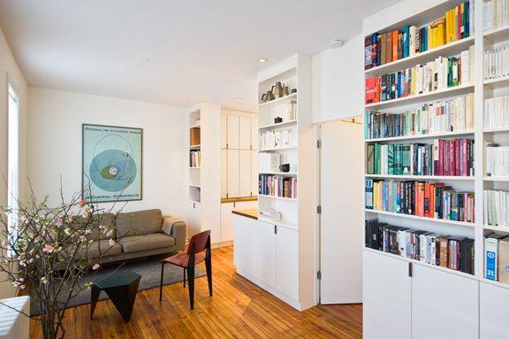 Kleine Wohnung einrichten: Intelligente Wände  Books