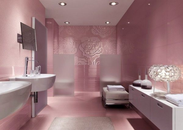 Pic Of Modern bathroom tile designs in one color shades are one of timeless stylish and sophisticated interior design trends