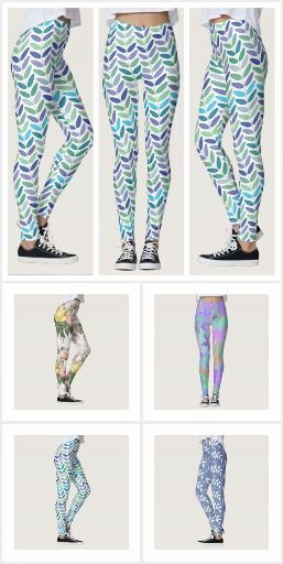 Floral Leggings for Nature Lovers