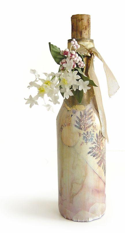 17 best images about decoracion on pinterest diy wine - Decoracion de botellas ...