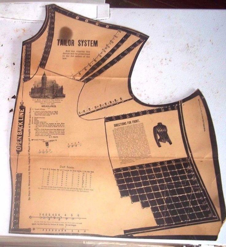 Best Vintage Pattern Maker Images On Pinterest Apparel Crafting - Ebay template maker