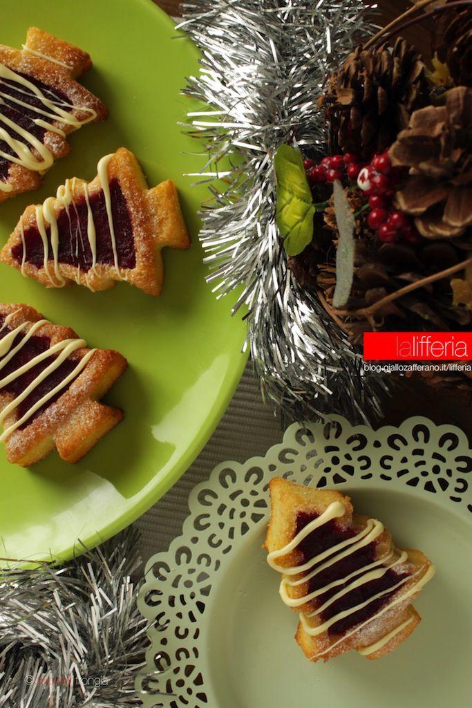 Alberelli di Natale al melograno #natale #xmas #christmas