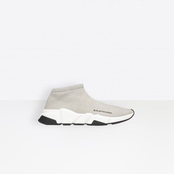 Shop Balenciaga Trainers With Textured Sole Silver Women in Balenciaga Sale online with Balenciaga Sneakers Sale and Cheap Balenciaga. #fashion #lifestyle #shoes #sneakers #spring #ss18