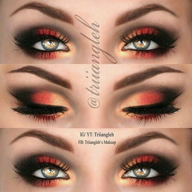 Makijaż oczu na lato
