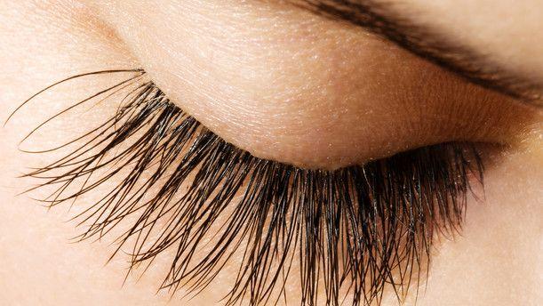 Recipe for longer lashes: 2 parts vaseline, 1 part coconut oil, 1 part castor oil