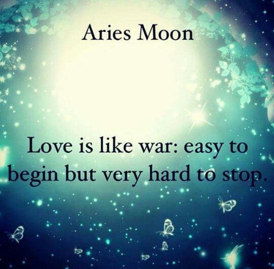 Aries Moon                                                                                                                                                                                 More