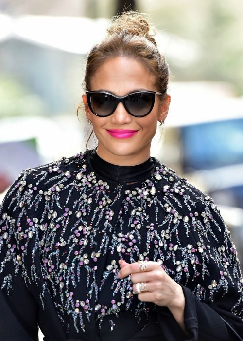 When Jennifer Lopez steps out into the world wearing hot-pink lipstick, she turns heads. It's no secret that Lopez can pull off pretty much anything and spawn trends in her sleep (sheer, skin-tight dresses and initial-based nicknames, to name...