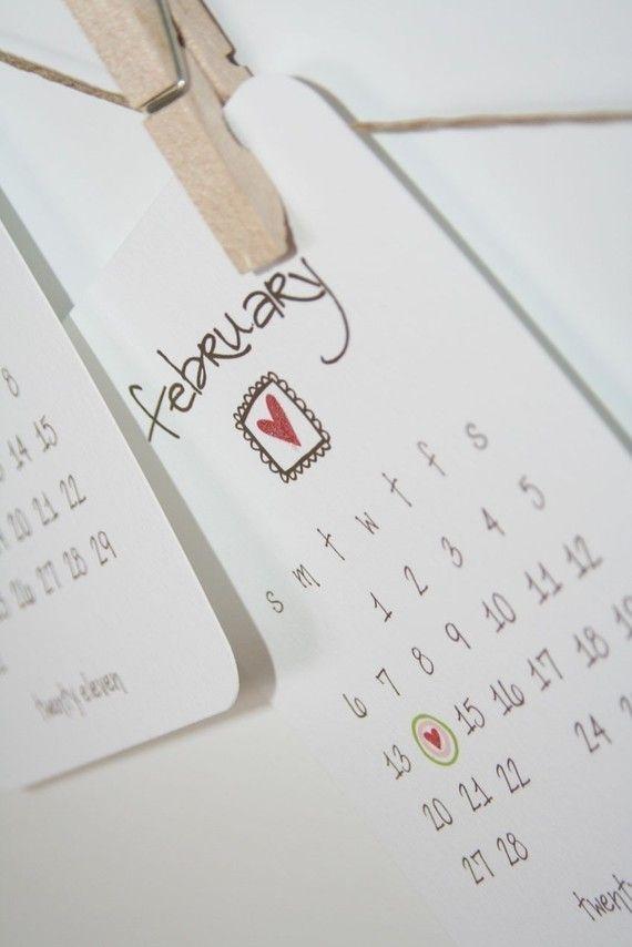 printable desk calendar.