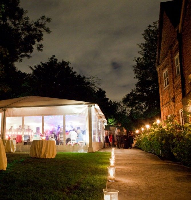Wedding Marquee at Fulham Palace