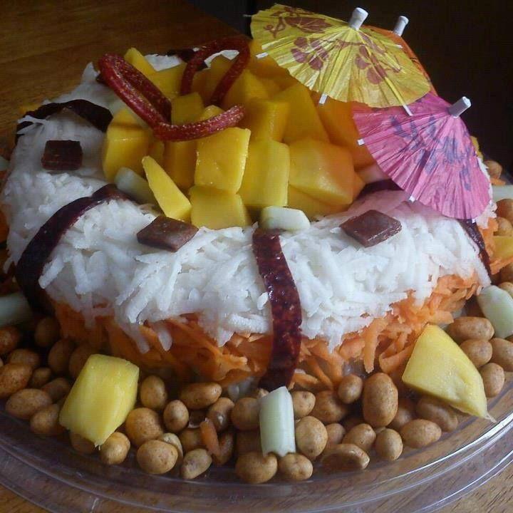 20 best fiesta hawaiana images on pinterest luau party - Decoracion de frutas ...