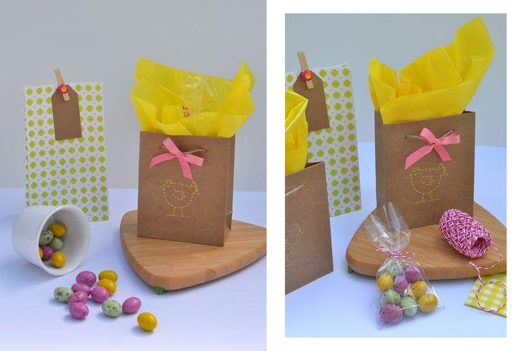 DIY / Easter treat bags.