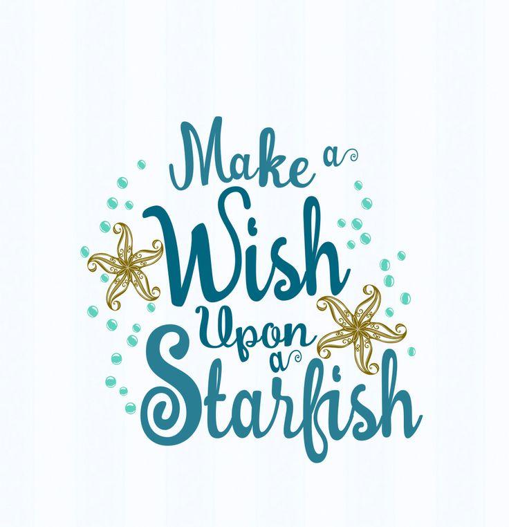 Starfish svg decor sign, Make a wish upon a starfish, beach theme, beach decor Svg Dxf Eps, png, jpg Cricut ,Silhouette, Digital Cut Files by JenCraftDesigns on Etsy