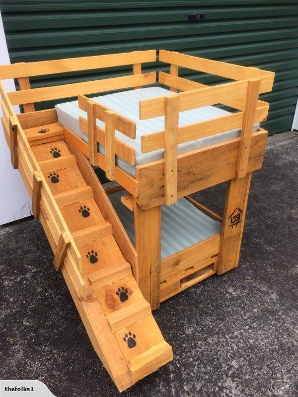 Pallet Dog Bed Two Storey Trade Me Pallet Dog Beds Wooden Dog