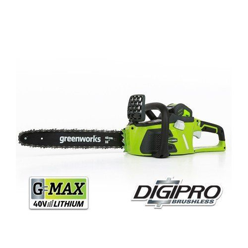Special Offers - GreenWorks 20312 G-MAX 40V 16-Inch Cordless Chainsaw 4AH Battery and a Charger Included - In stock & Free Shipping. You can save more money! Check It (September 24 2016 at 06:04PM) >> http://pressurewasherusa.net/greenworks-20312-g-max-40v-16-inch-cordless-chainsaw-4ah-battery-and-a-charger-included/