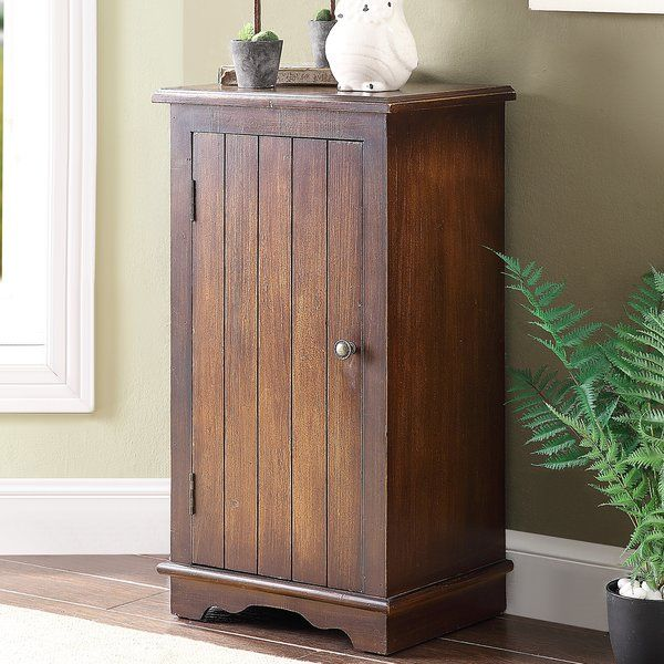 You Ll Love The Carrero 1 Door Accent Cabinet At Birch Lane With Great Deals On All Products A Accent Chests And Cabinets Accent Doors Wooden Storage Cabinet