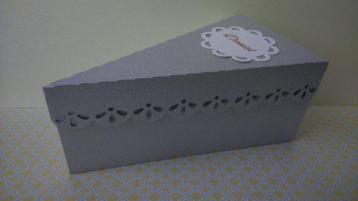 Souvenir porción torta