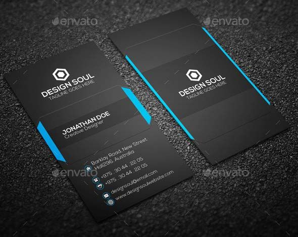 Best Top Amazing And Professional Business Card Templates - Professional business card templates