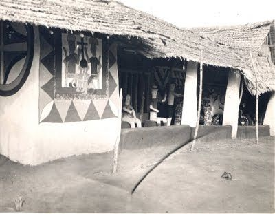 17 best images about nigeria igbo country on pinterest for Yoruba architecture
