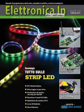 Elettronica In N.163 - Febbraio 2012 Italian | 133 Pages | PDF | 25.01 Mb