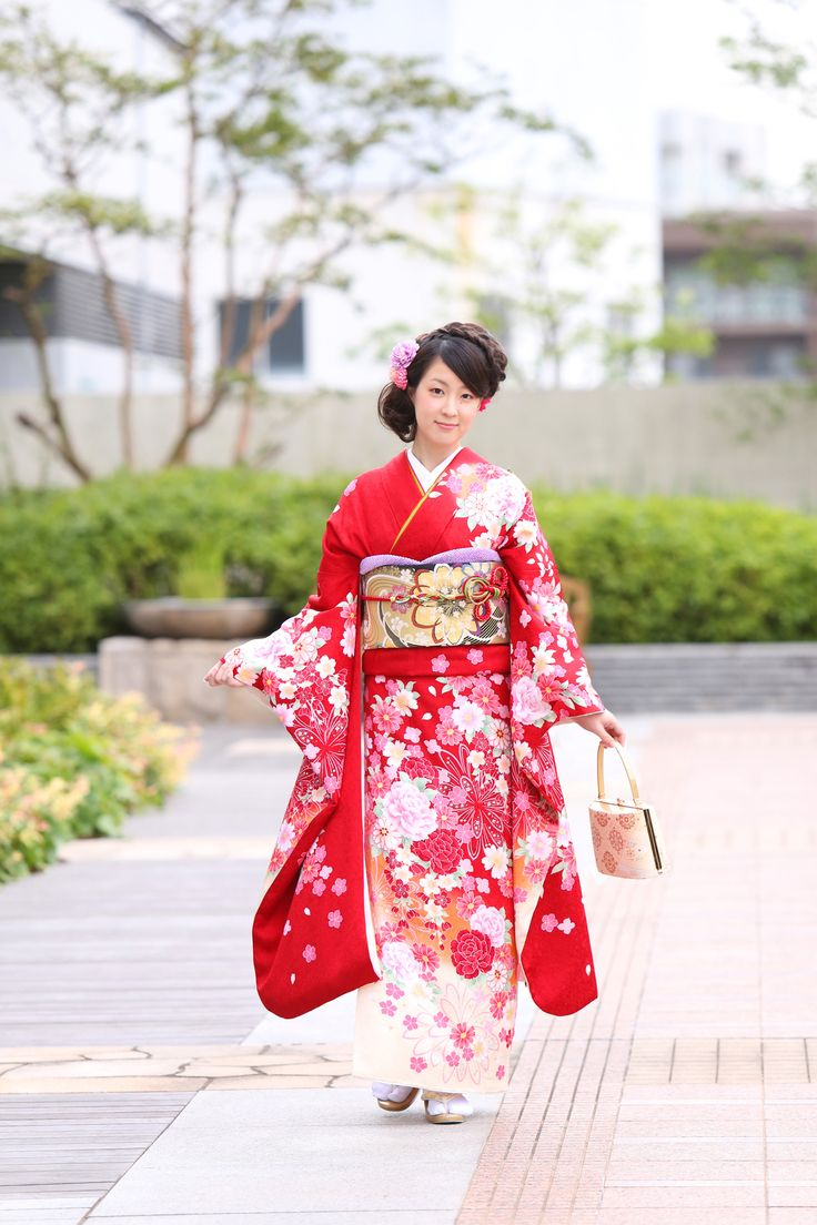 成人式前撮り*館内ロケーションフォト/ANAクラウンプラザホテル神戸写真室