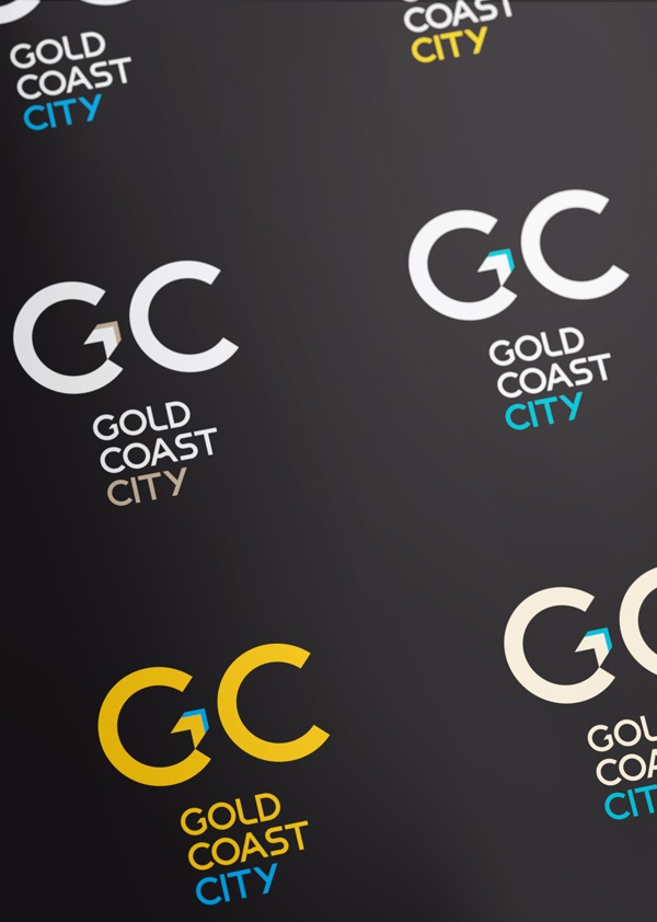 Gold Coast CIty Rebrand Concept #2 by Matt Vergotis, via Behance