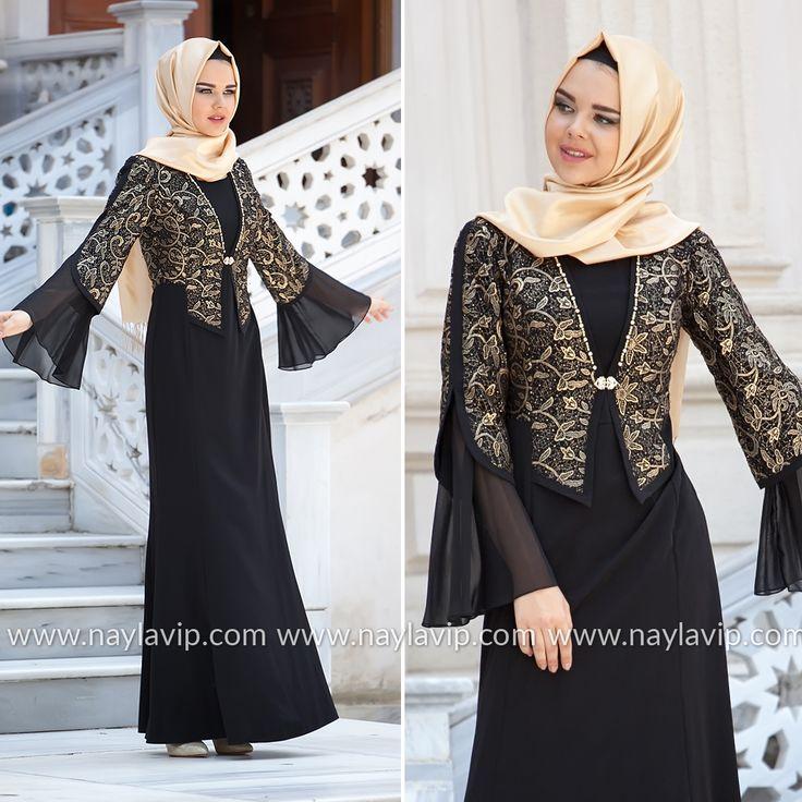 EVENING DRESS - EVENING DRESS - 2124S #hijab #naylavip #hijabi #hijabfashion #hijabstyle #hijabpress #muslimabaya #islamiccoat #scarf #fashion #turkishdress #clothing #eveningdresses #dailydresses #tunic #vest #skirt #hijabtrends