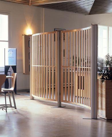 Timber Framed Screens And Inner Vertical Slats Inner