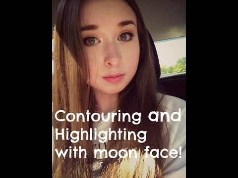Contouring and highlighting for Moon Face while on Prednisone