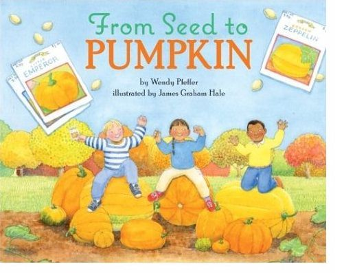 Pumpkin storytime ideas; from seed to Jack-o-lantern | Fun with Friends at Storytime.