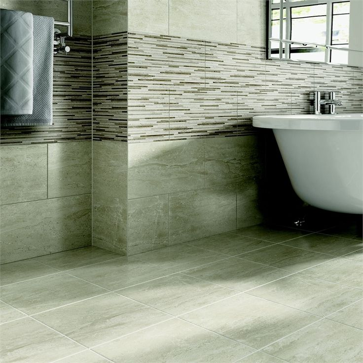 find ambleside grey ceramic floor tile 330 x 330mm at homebase visit your local - Bathroom Tiles Homebase