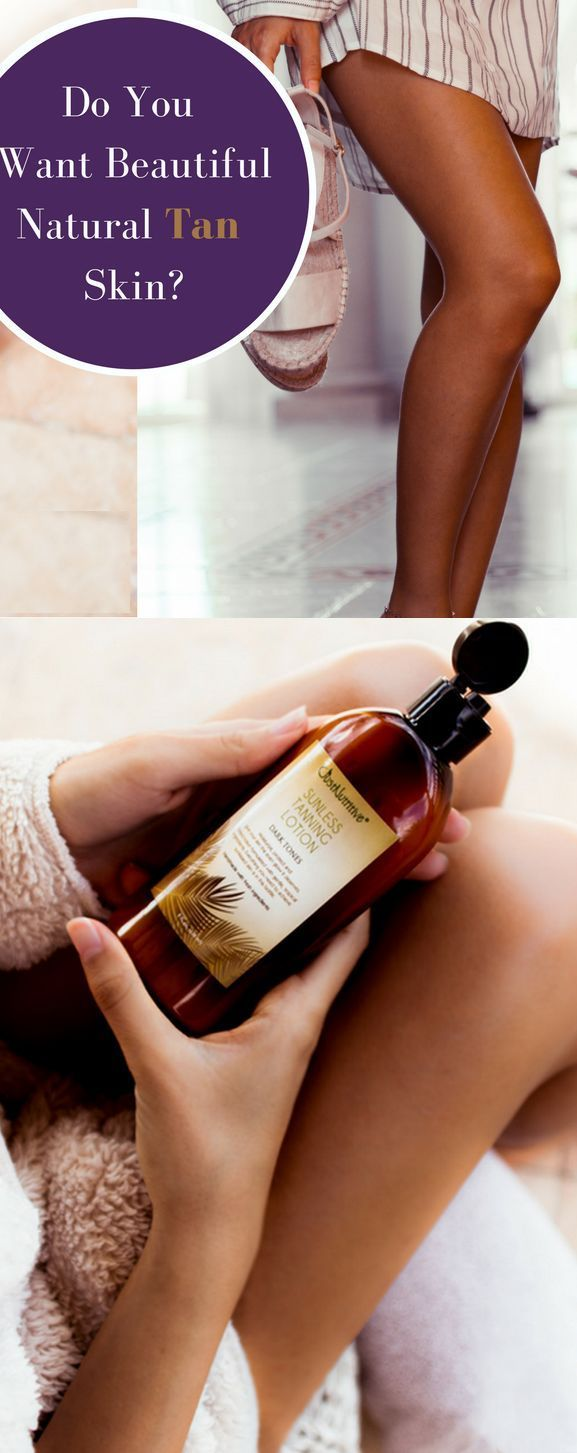 Get a Beautiful Deep Dark Tan without a tanning bed or the sun.