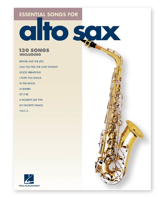 Essential Songs for Alto Saxophone Sheet Music