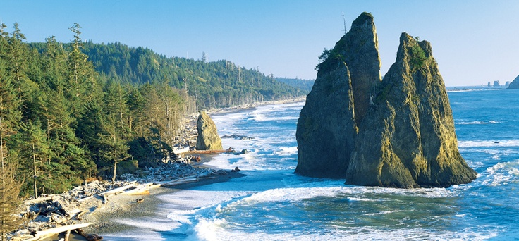 Rialto Beach - Explore the Peninsula | Gallery | Port Angeles Bed and Breakfast, Sequim, Olympic National Park Hotels, Inn, Lodging - Colettes
