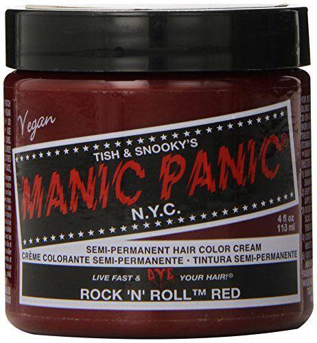 Manic Panic - Rock N Roll Red Hair Dye, 4 fl oz Old Glory http://www.amazon.com/dp/B002UJMVHY/ref=cm_sw_r_pi_dp_c3wewb1Q52F47