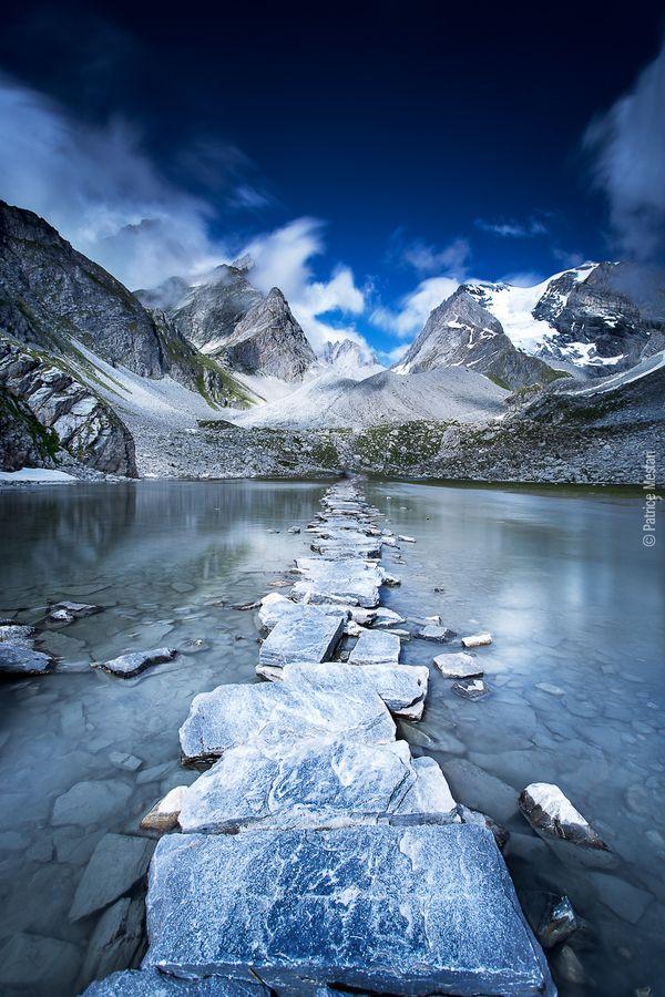 Le chemin vers le paradis - Lac des vaches - Massif de la Vanoise by Patrice MESTARI, via 500px