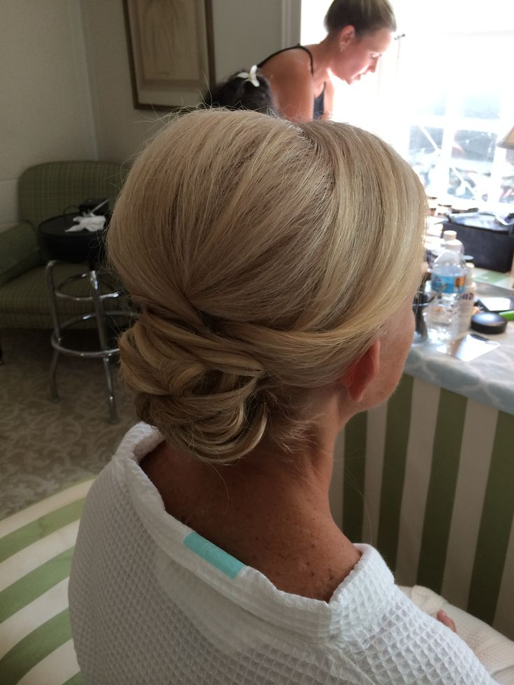 MOB updo by Kimberly Valosen