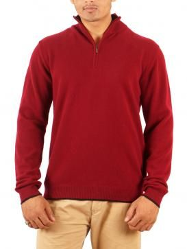 Made of cashmere wool, this full sleeved maroon Sweater by Todi will keep you warm. Visit http://www.designerkapde.com today!