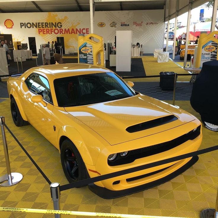 Dodge Demon @ SEMA