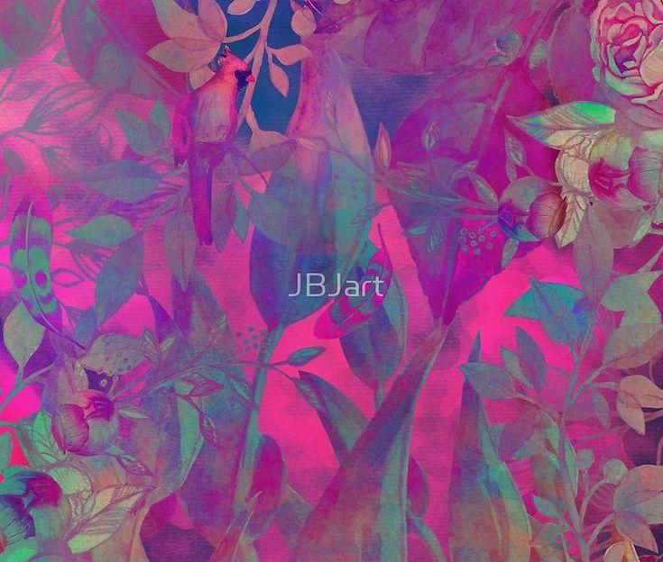 flowers pattern purple #flowers #flora #pattern