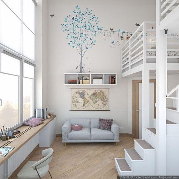 Habitaciones a doble altura