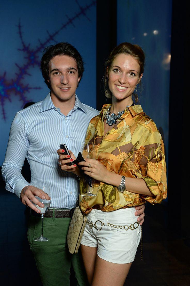 Alessandro Bianchi e Cassandra Barbiano di Belgioioso