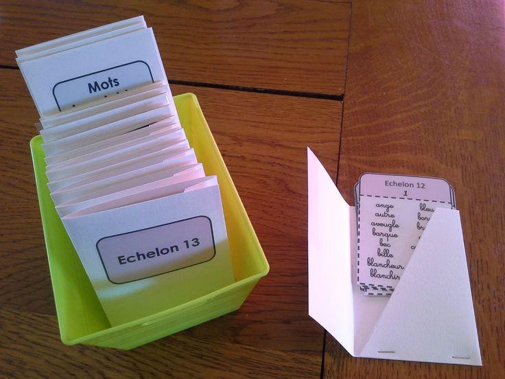 l'échelle Dubois-Buyse, qui recense près de 4 000 mots à apprendre en priorité