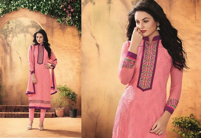 Ethnic Designer Party Anarkali Exclusive Indian Bollywood Pakistani Salwar Suit…