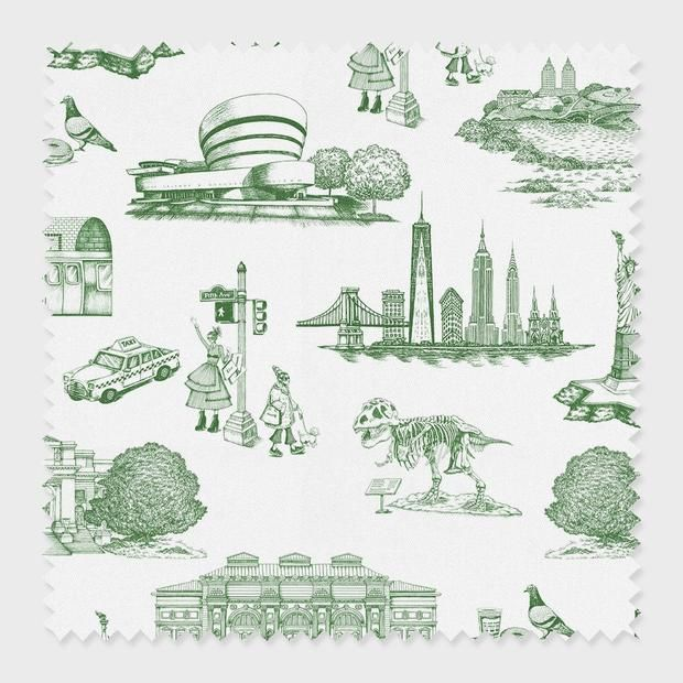 New York Toile Wallpaper Toile Fabric Katie Kime Toile Wallpaper