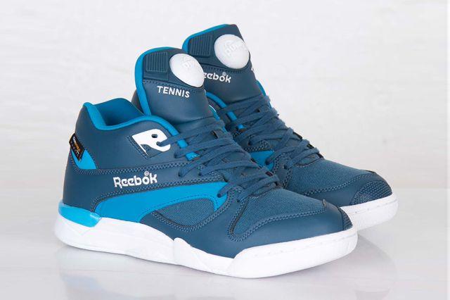 REEBOK COURT VICTORY PUMP CORDURA (BOMB BLUE) - Sneaker Freaker