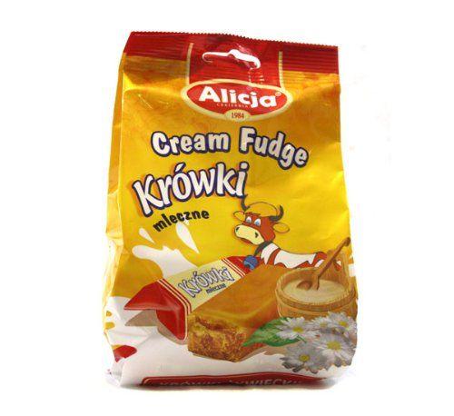 Alicja Cream Fudge / Krowki Mleczne (250g/ 8.82 Oz)
