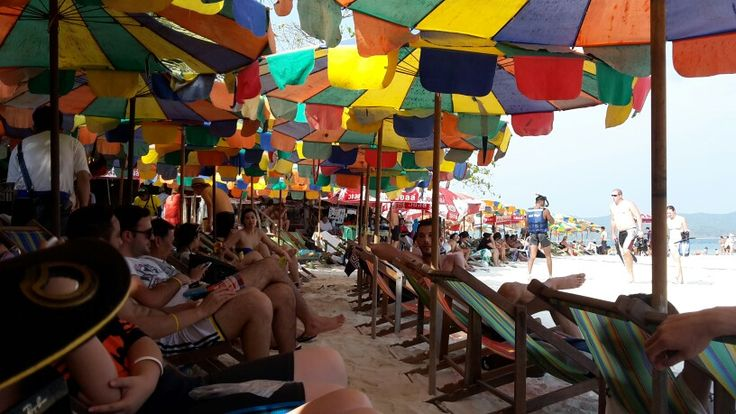 Relaxing on Khai Island, Phuket