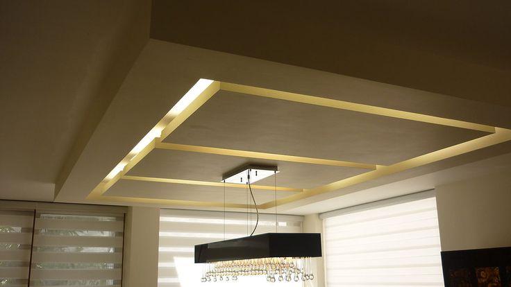 Plafones decorativos residenciales buscar con google - Plafones de techo ...